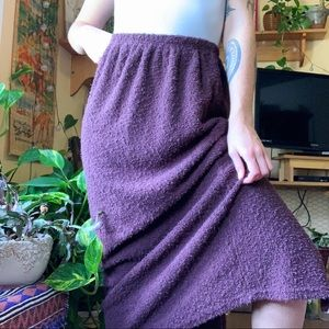 Cut Loose Sweater Maxi Skirt
